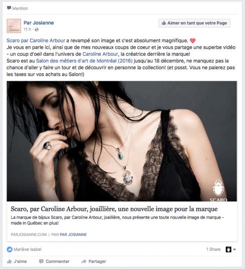 Par Josiane- Facebook