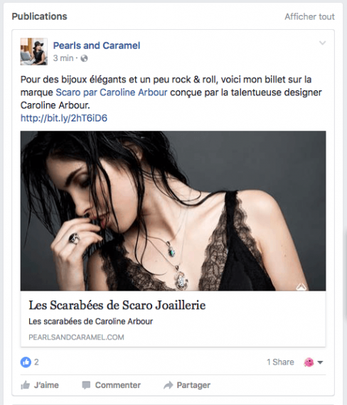 Pearls and Caramel - Facebook