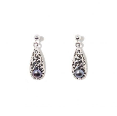 Boucles d oreilles Merveille   Bijoux SCARO par Caroline Arbour ... d8dc8127979