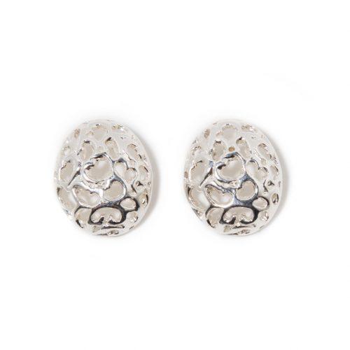 Boucles d'oreilles Magnificence en argent sterling. Boucles d'oreilles fait au Quebec par SCARO.