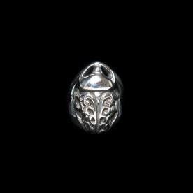 Bague Scarabée Dentelle en argent sterling. Bijoux scarabées par SCARO.