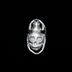Bague Bad Ass en argent sterling. Bijou SCARO.