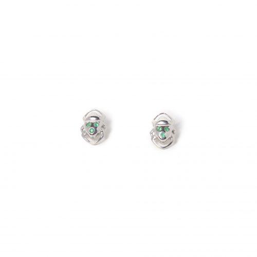 Boucles d'oreilles Athéna fond blanc