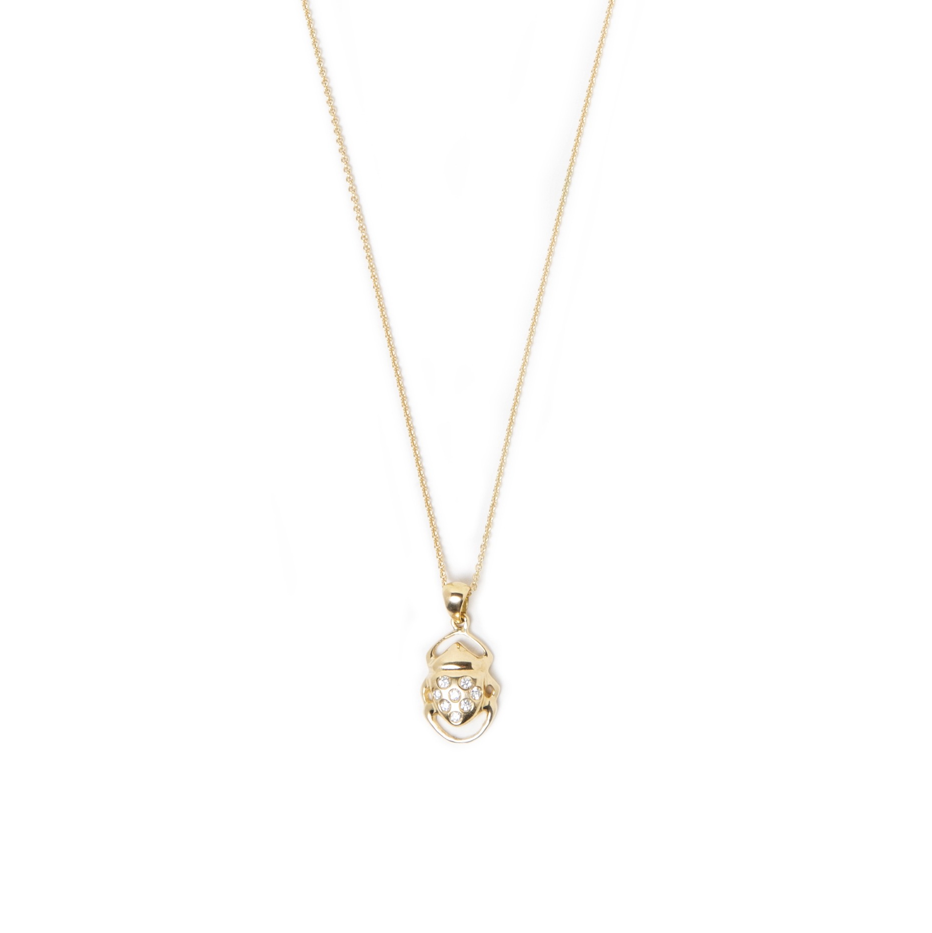 Pendentif Athéna en or 18K avec diamants de la collection Apothéose. Bijou SCARO disponible chez BIRKS - Montréal
