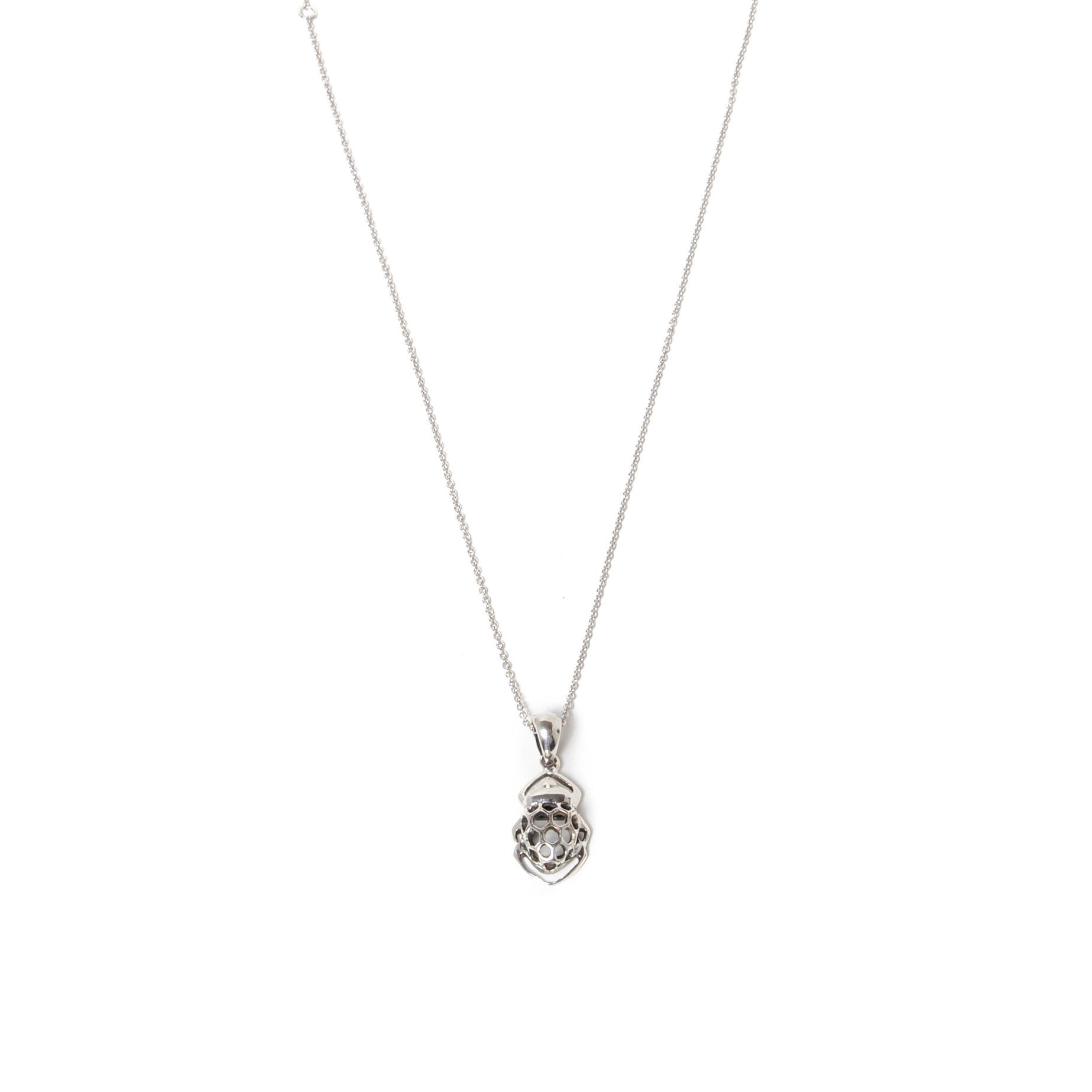 Pendentif Mellona en argent sterling des bijoux SCARO.